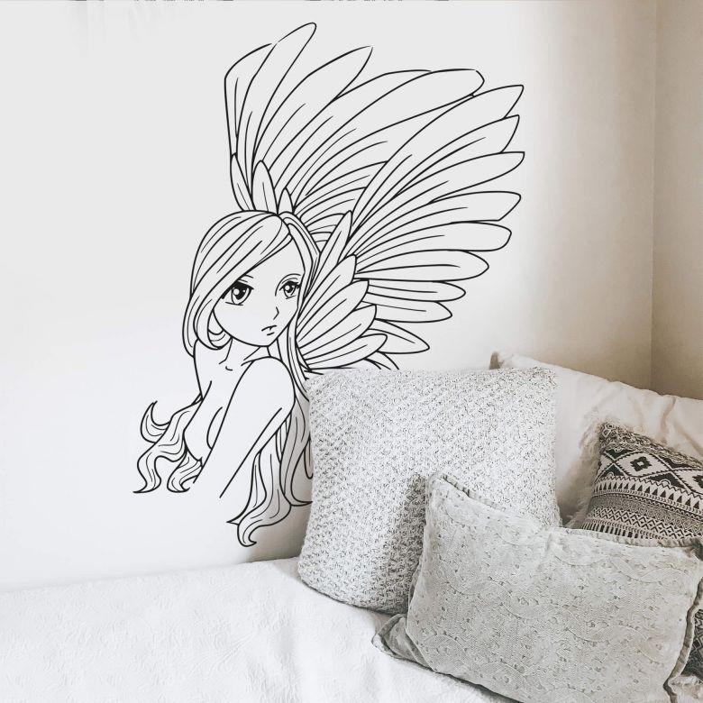 Sticker mural - Peri Manga
