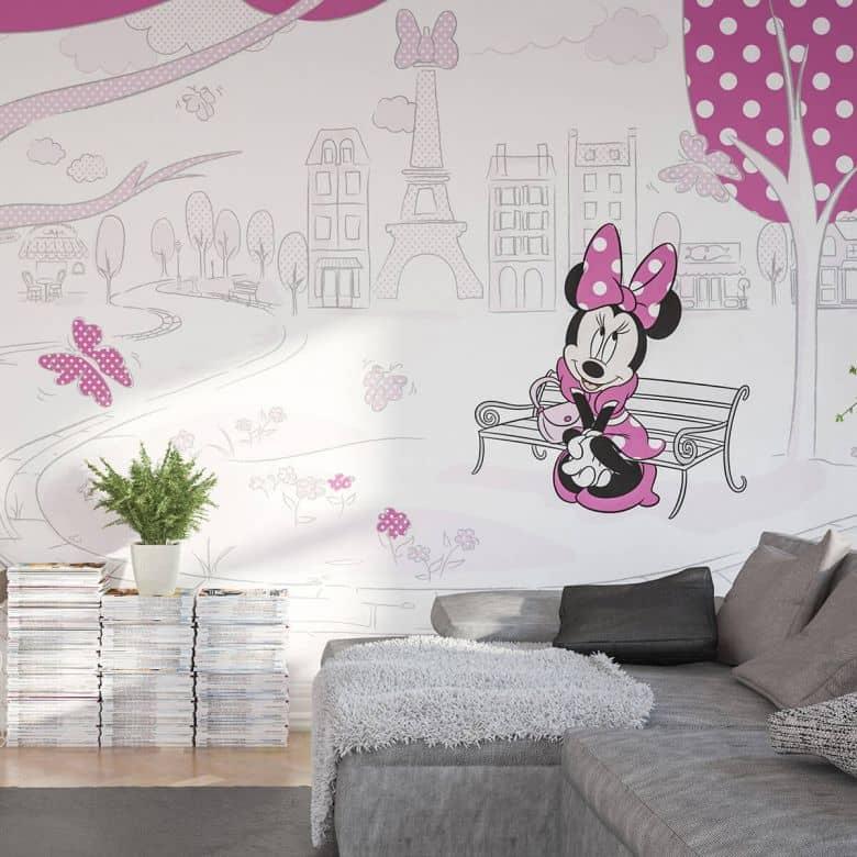 Photo Wallpaper Minnie in Paris