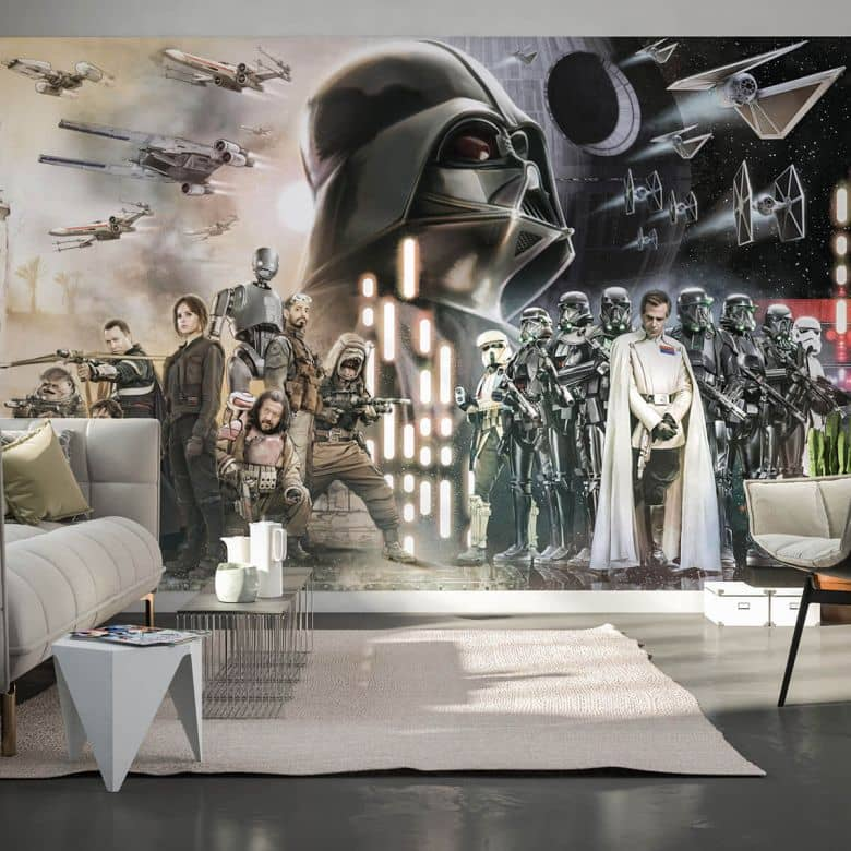 Fototapete Star Wars Collage