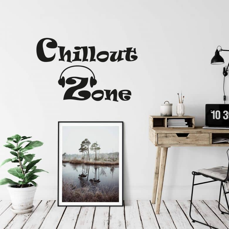 Chill-out Zone 2 Wall sticker