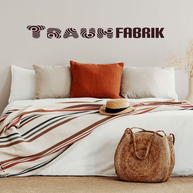 Wandtattoo Traumfabrik 1