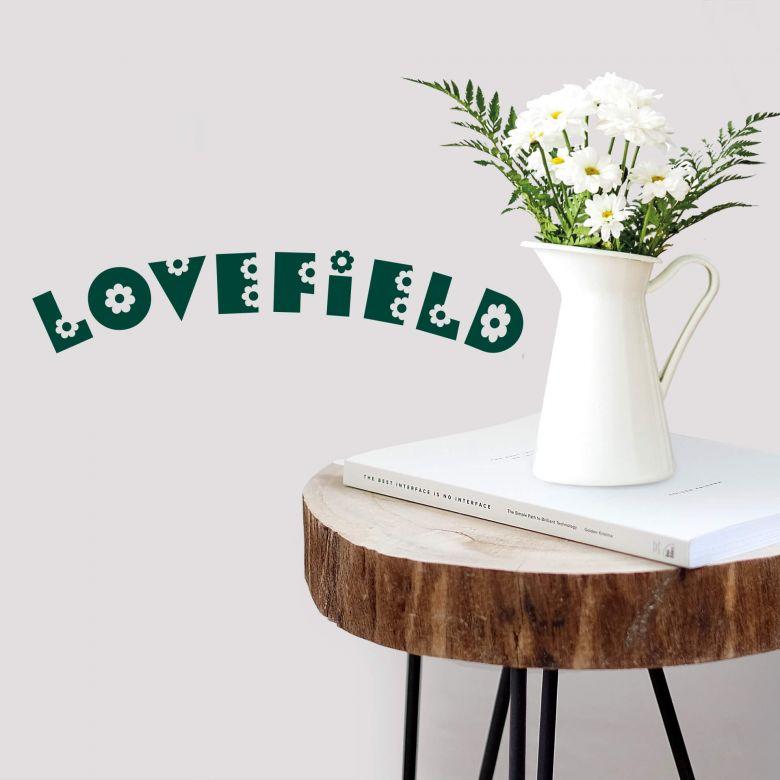 Muursticker Lovefield