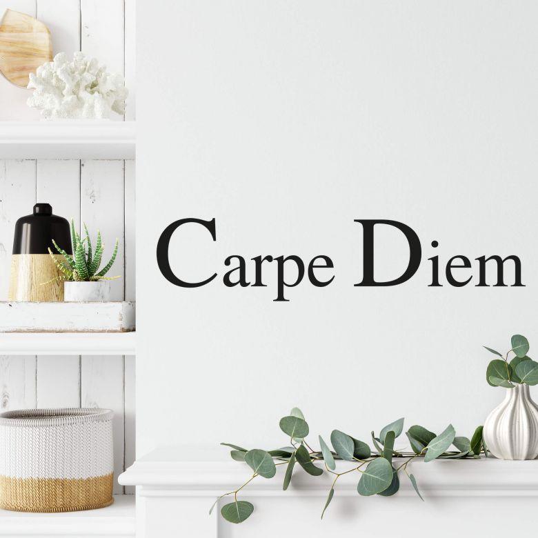 Carpe Diem 2 Wall sticker