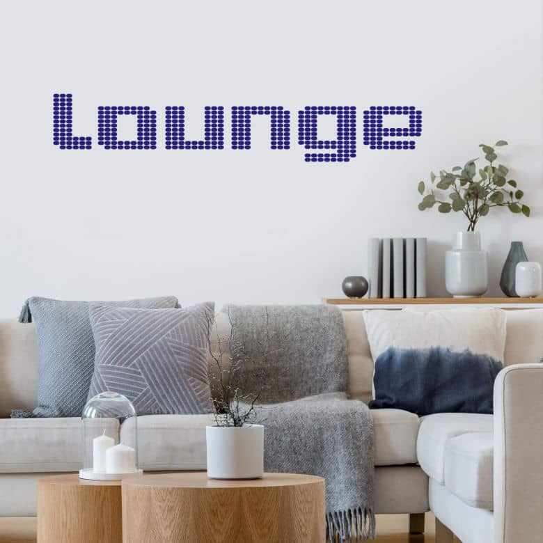 Sticker mural - Lounge