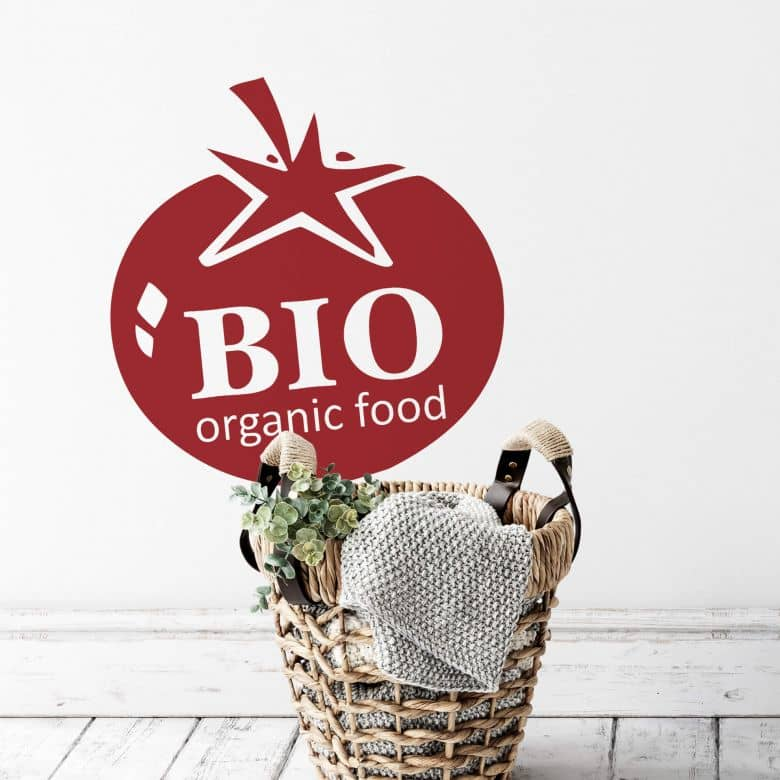 Organic Food Tomato Wall sticker