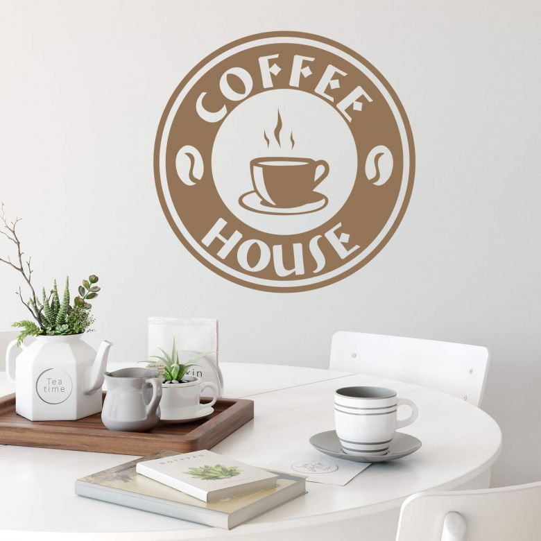 Coffee House Wall Sticker