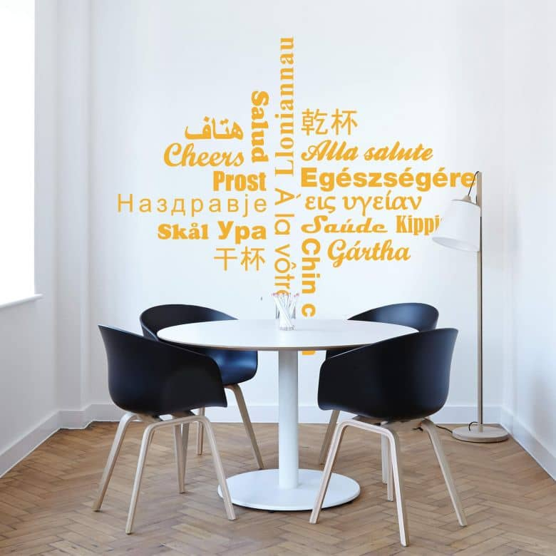 Cheers Multicultural Wall sticker