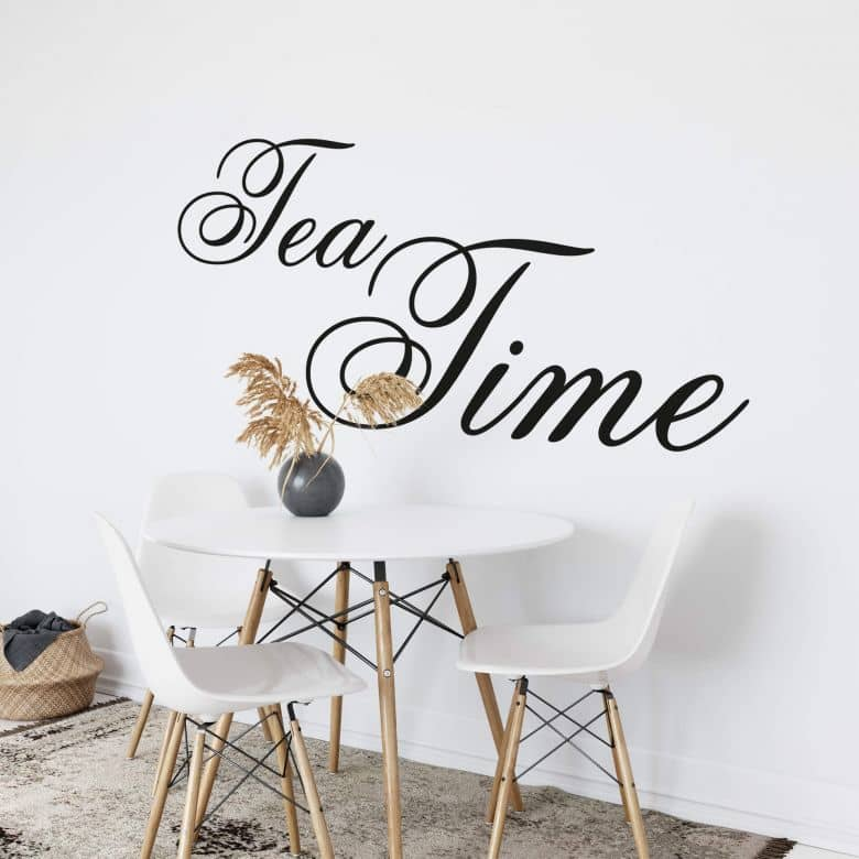 Tea Time - Wall Sticker