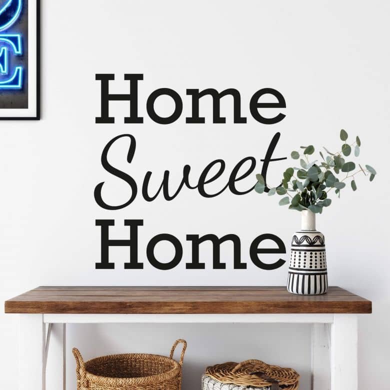 Home Sweet Home 2 Wall sticker