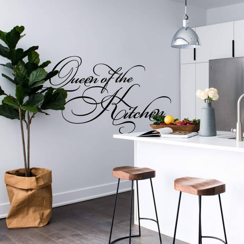 Queen of the Kitchen Wall sticker