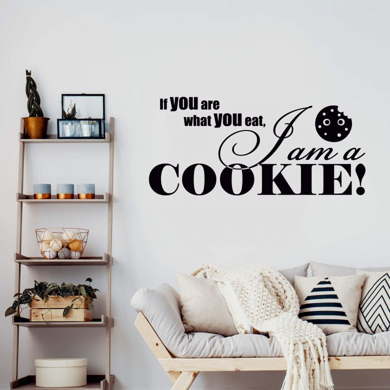If you are what you eat... 1 Wall sticker