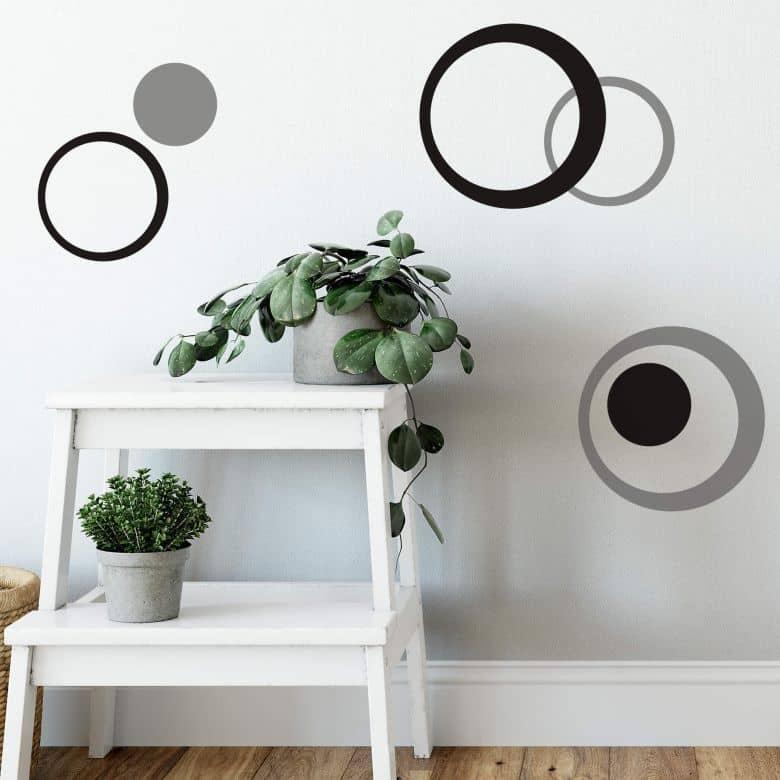 Circle Bundle Wall sticker