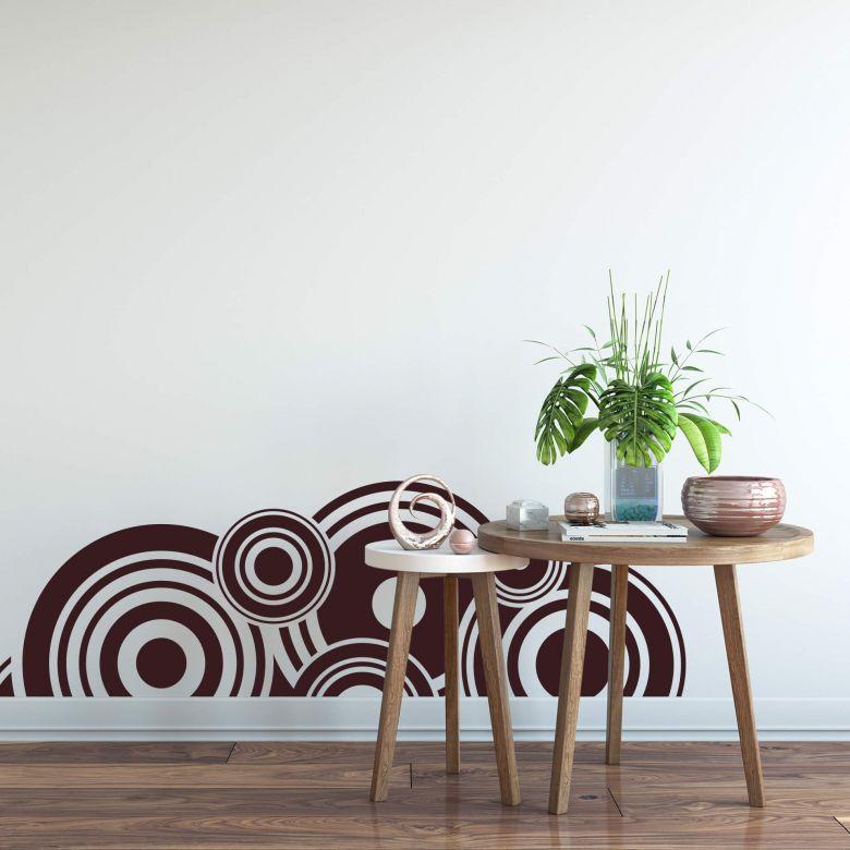 Sticker mural - Rétro