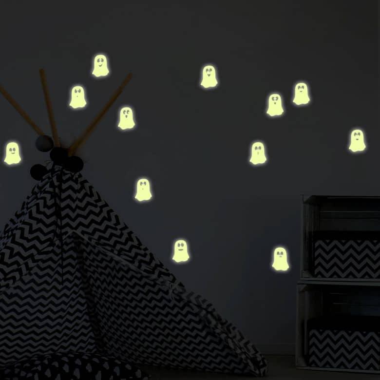 Little Ghosts Glow in the Dark Stickers