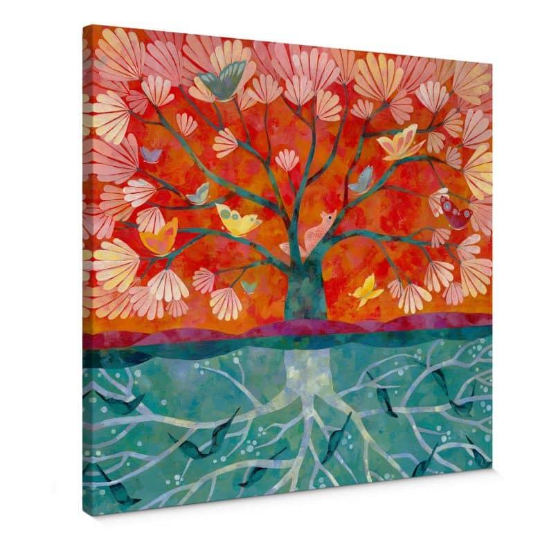 Leinwandbild Blanz - Baum des Lebens