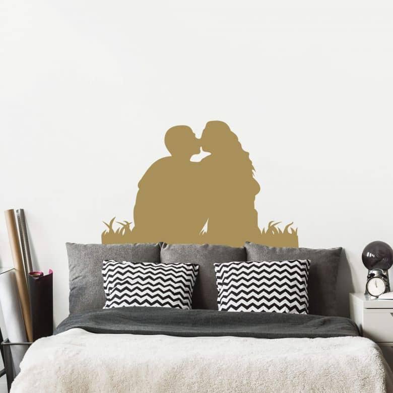 Adesivo murale - Bacio 1