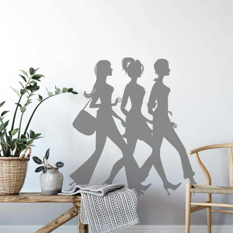 Adesivo murale - Go Shopping