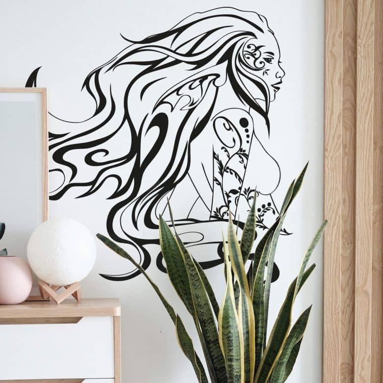 Sticker mural - Elfe des bois