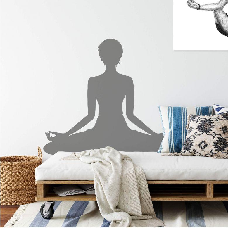Wall sticker Yoga 02