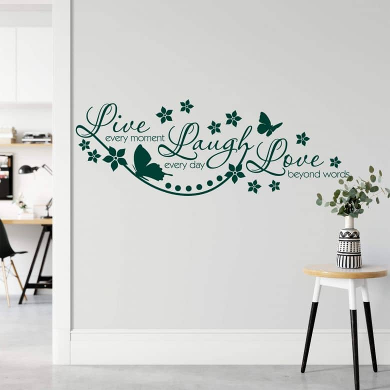 Live Every Moment... Wall sticker