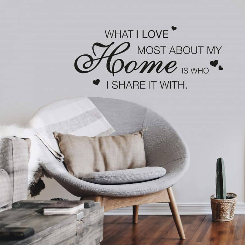 What I love most... 1