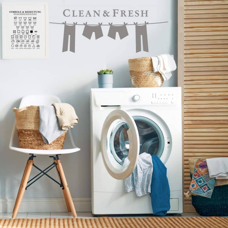 Clean and fresh Wall sticker