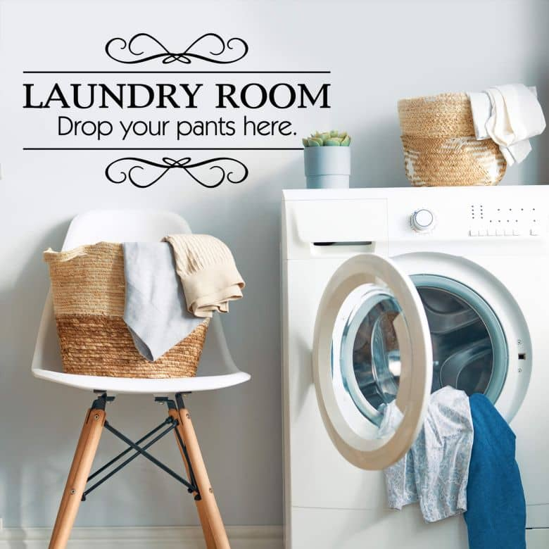 Laundry Room Wall sticker