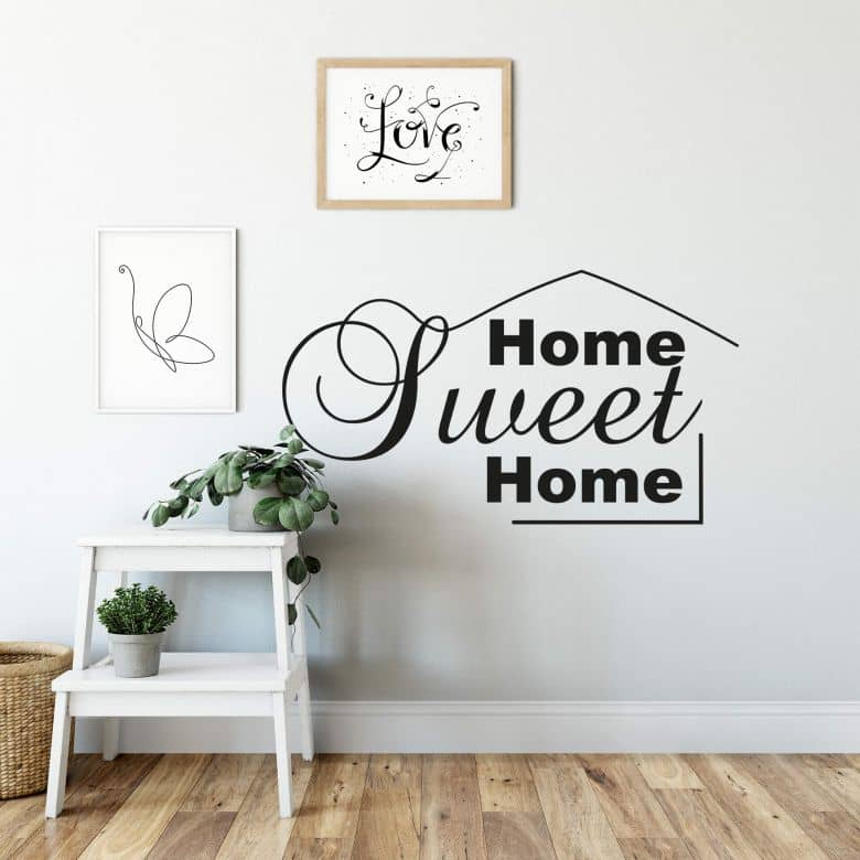 Home Sweet Home 8 Wall sticker