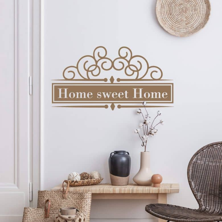 Muursticker Home Sweet Home 4