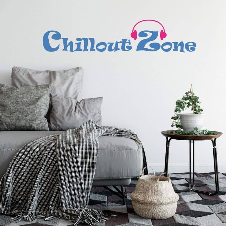 Chill Out Zone 6 Wall Sticker