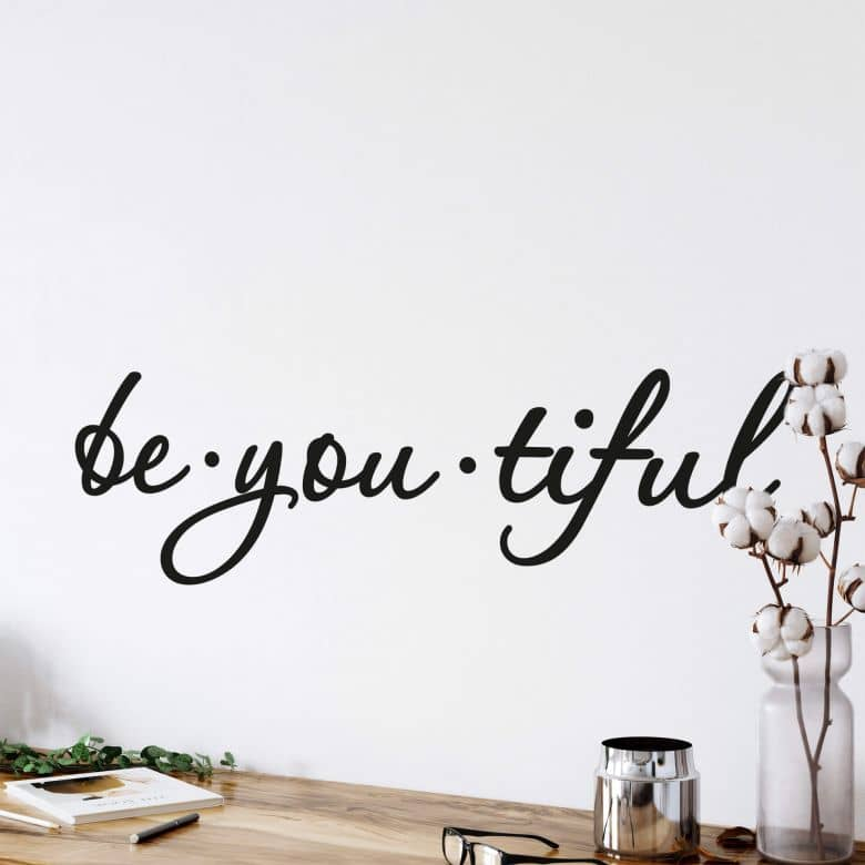 Be You Tiful Wall sticker