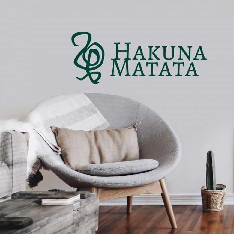 Muursticker Hakuna Matata 01