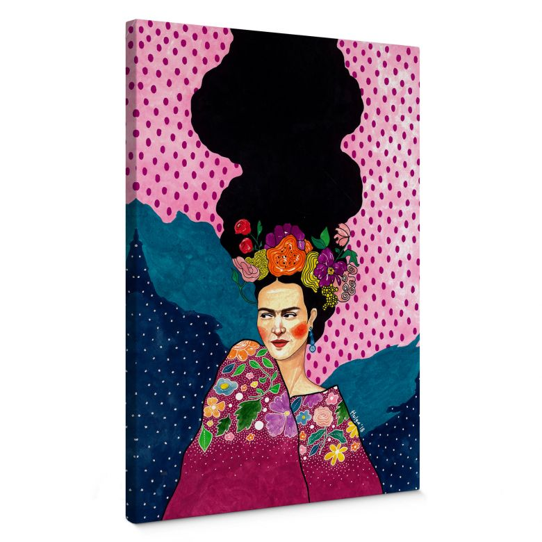 Stampa su tela Hülya - Frida