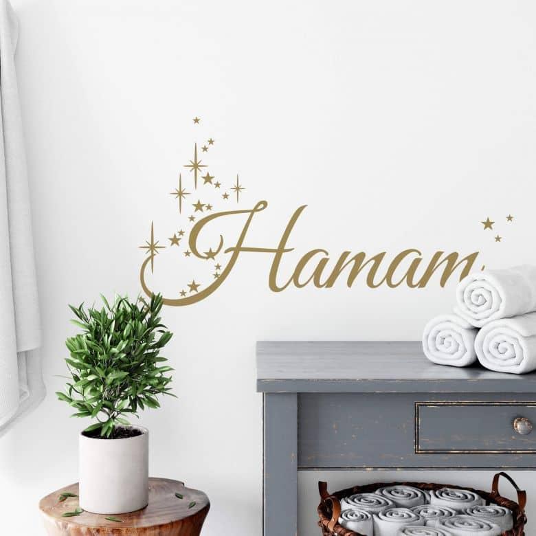 Wandtattoo Hamam 01