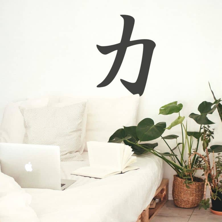 Japanese - Strength Wall sticker