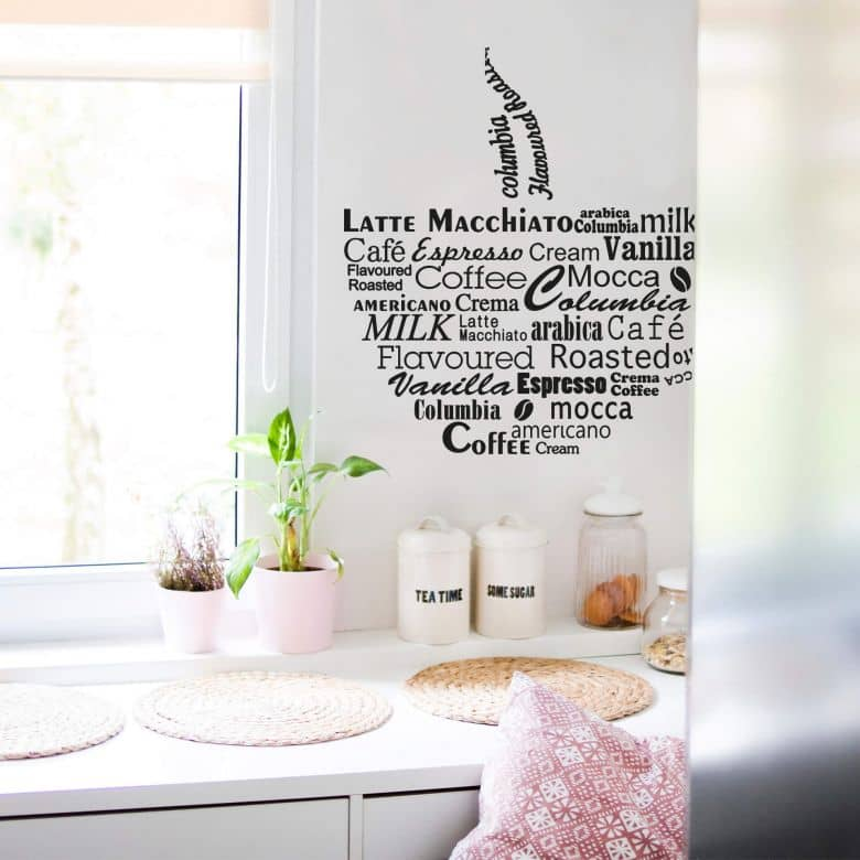 Coffee Cup 2 Wall sticker