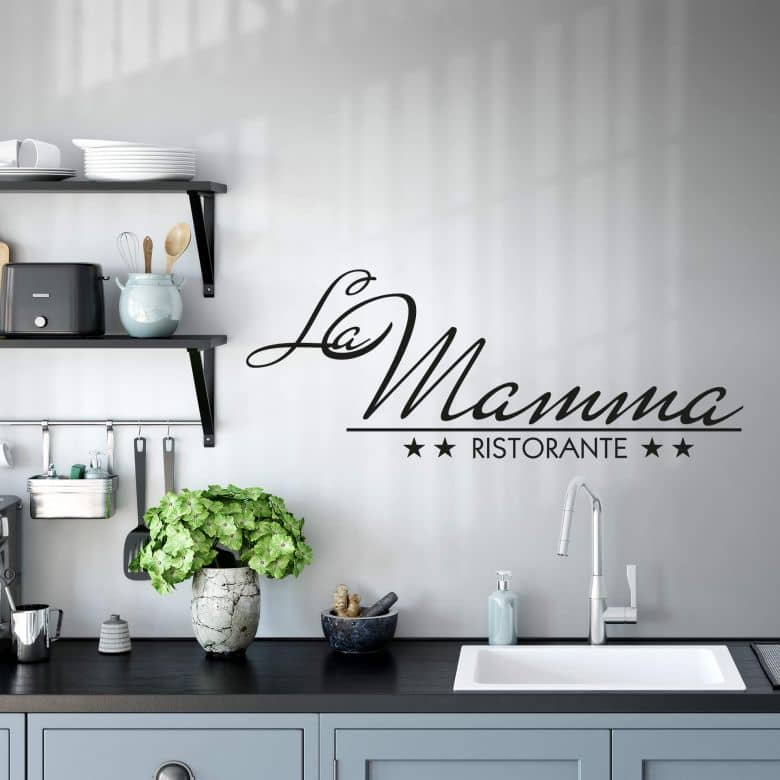 La Mama Wall sticker