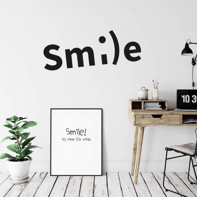 Adesivo murale -smile