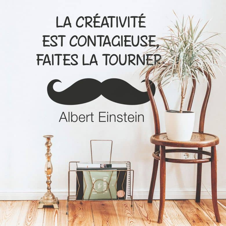 Wandtattoo La créativité est contagieuse... 02