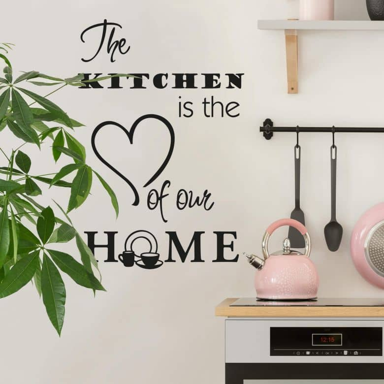 The kitchen is... Wall sticker