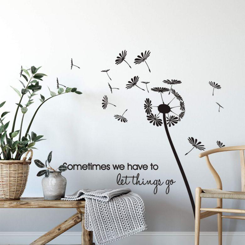Adesivo murale - Sometimes we have...