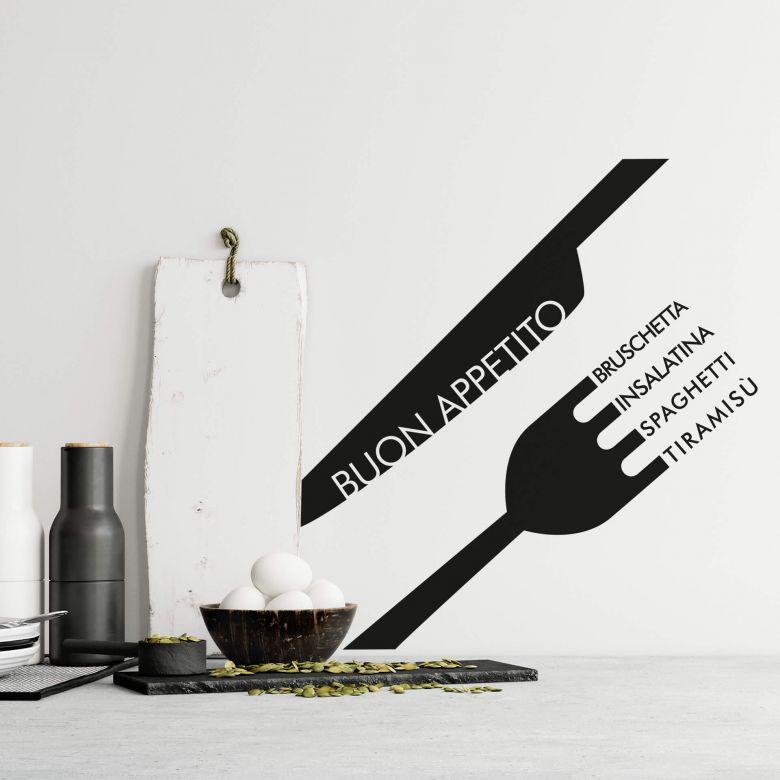 Buon Appetito Wall sticker