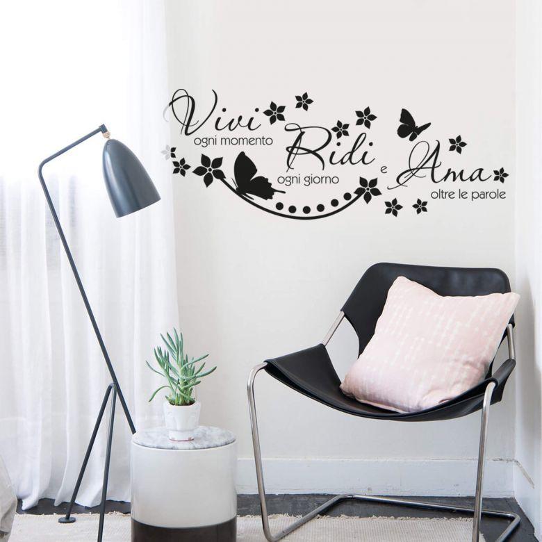 Sticker mural -La vita è come...
