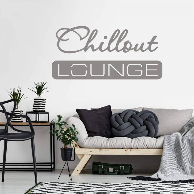Wall sticker Chillout Lounge