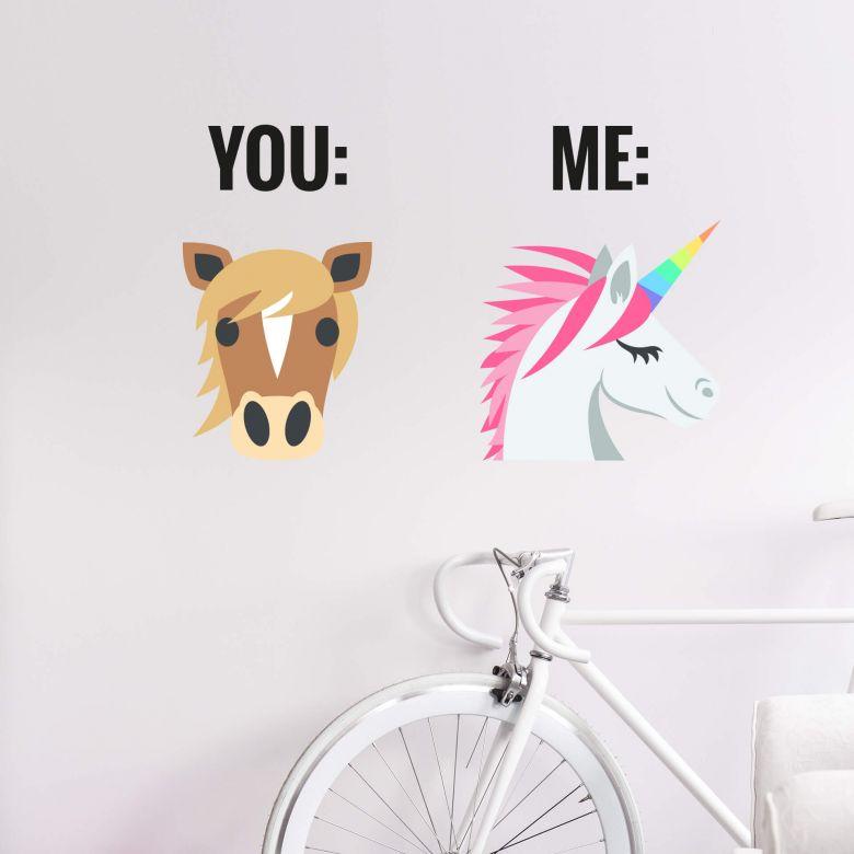Adesivo Emoji – You And Me