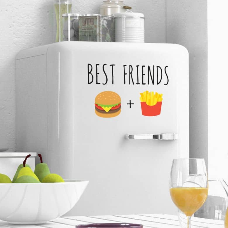 Wall Sticker Emoji Best Friends 1