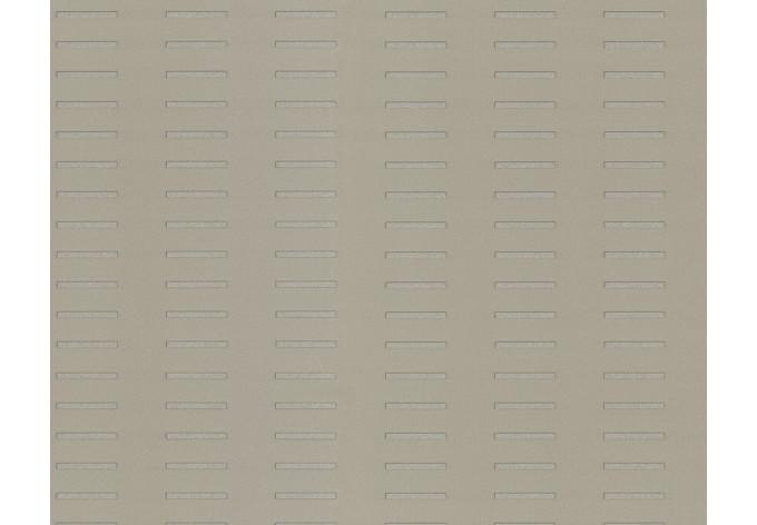 Mustertapete Architects Paper Tapete Square by Porsche Design Studio Grau, Metallic