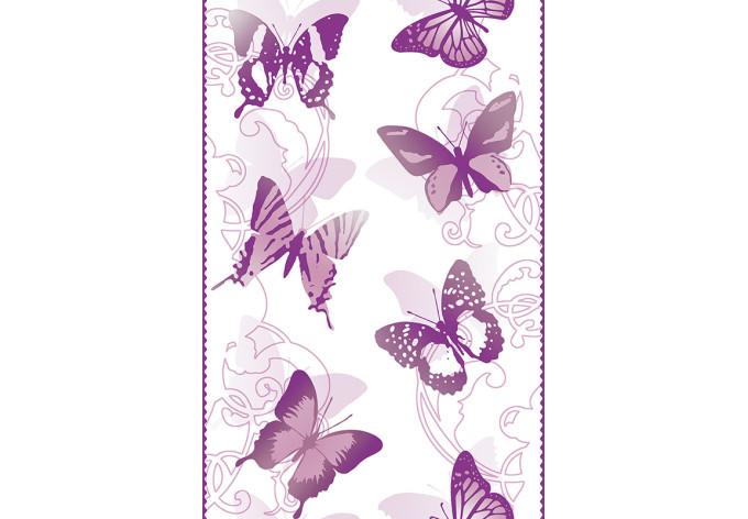 Livingwalls Dekopanel pop.up Panel Violet, White