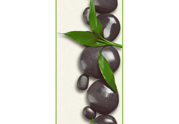 Panneau décoratif Livingwalls pop.up Panel crème, vert, noir