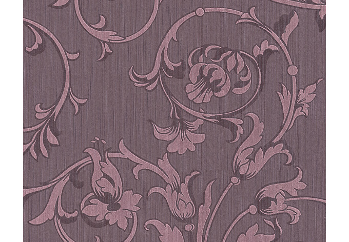 Mustertapete Architects Paper Textiltapete Tessuto Pastellviolett, Purpurviolett